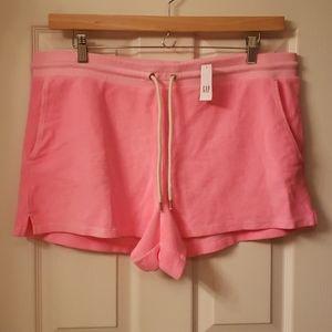 Gap terry cloth shorts
